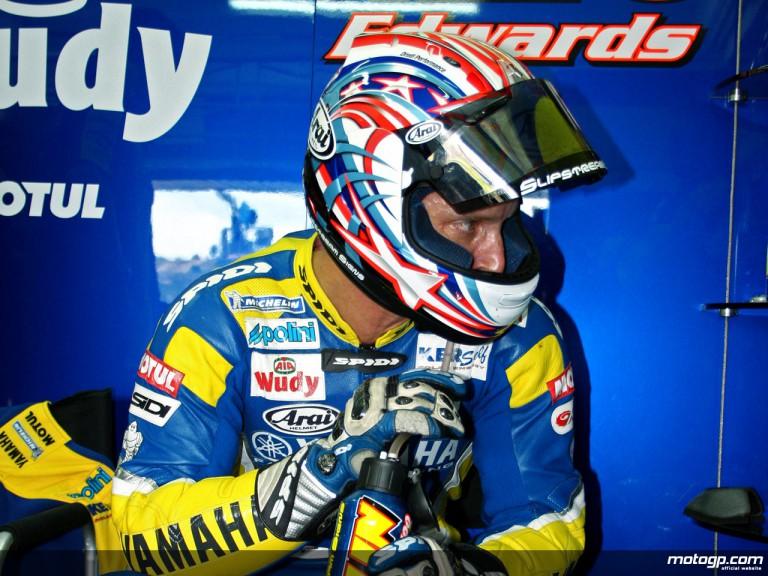 Colin Edwards in the Tech 3 Yamaha