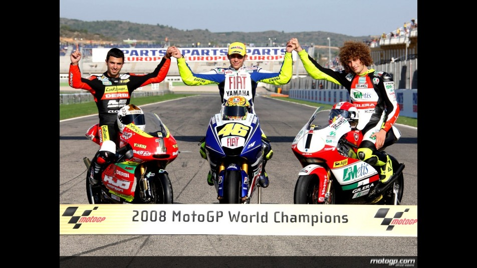 2008 MotoGP Champions celebrated in Valencia