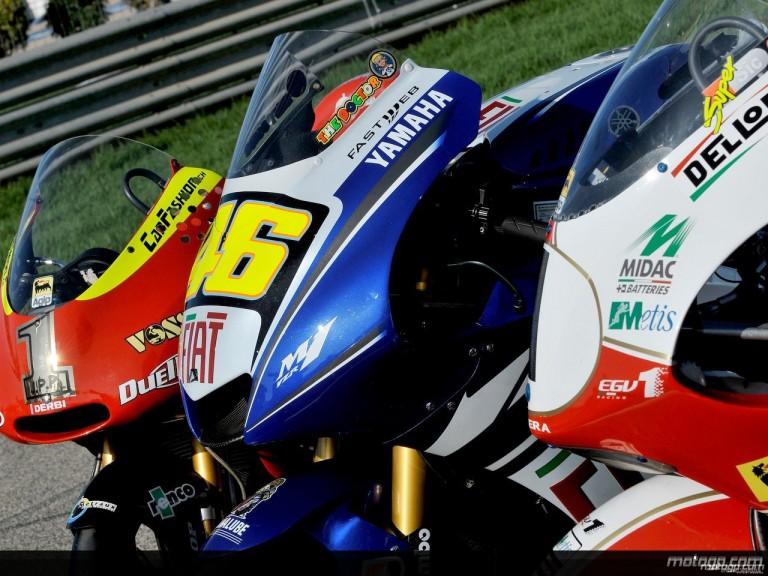 2008 MotoGP Champions´ bikes