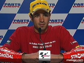 Mike di Meglio interview after race in Valencia