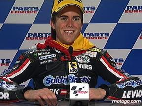 Nicolas Terol interview after race in Valencia
