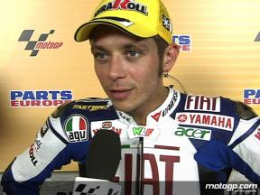Rossi on tough weekend