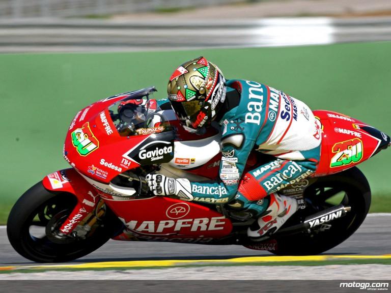 Gabor Talmacsi makes his first 250cc outing in Valencia