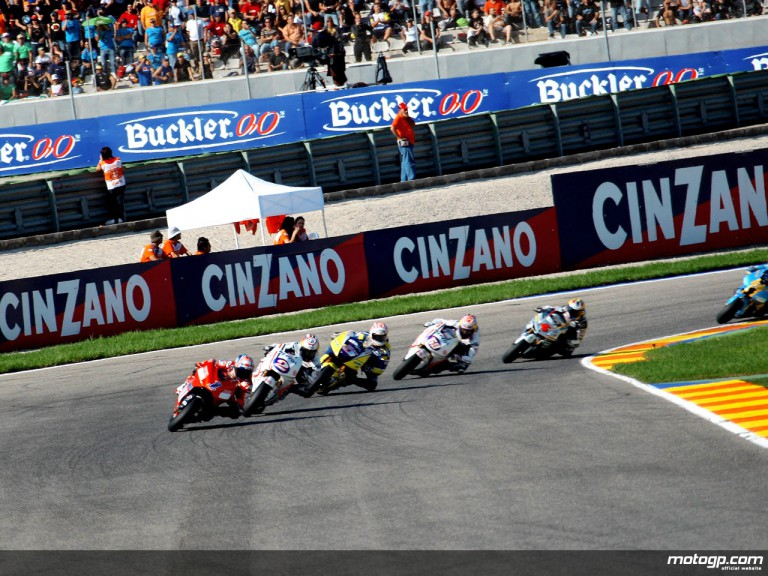 MotoGP group on track at Valencia