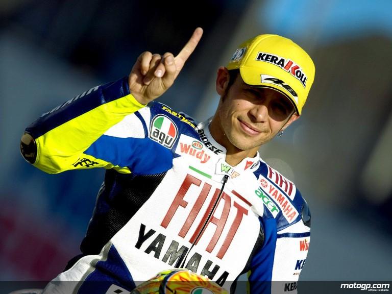 MotoGP number one Valentino Rossi