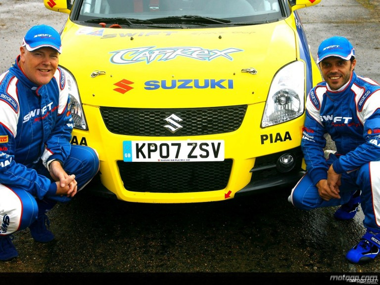 Capirossi getting ready for the Tempest Rally