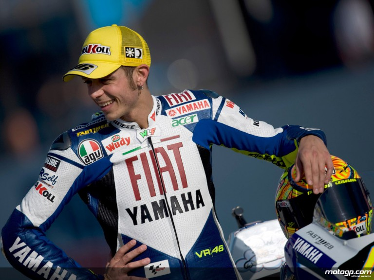 2008 MotoGP World Champion Valentino Rossi