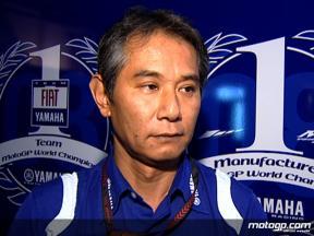 Nakajima gets technical with 2008 Yamaha M1