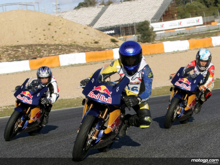 Red Bull Rookies Cup Selection Event at Estoril