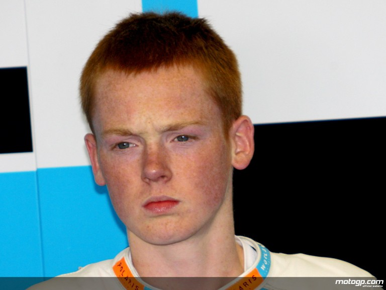 British youngster Bradley Smith
