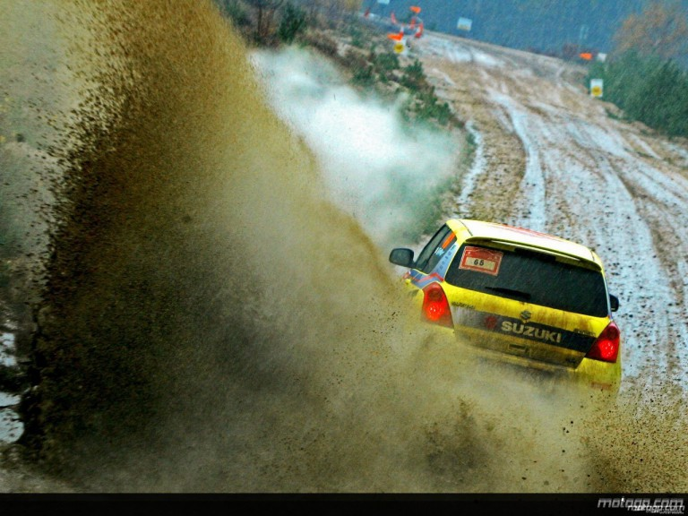 Loriss Capirossi at the Tempest Rally