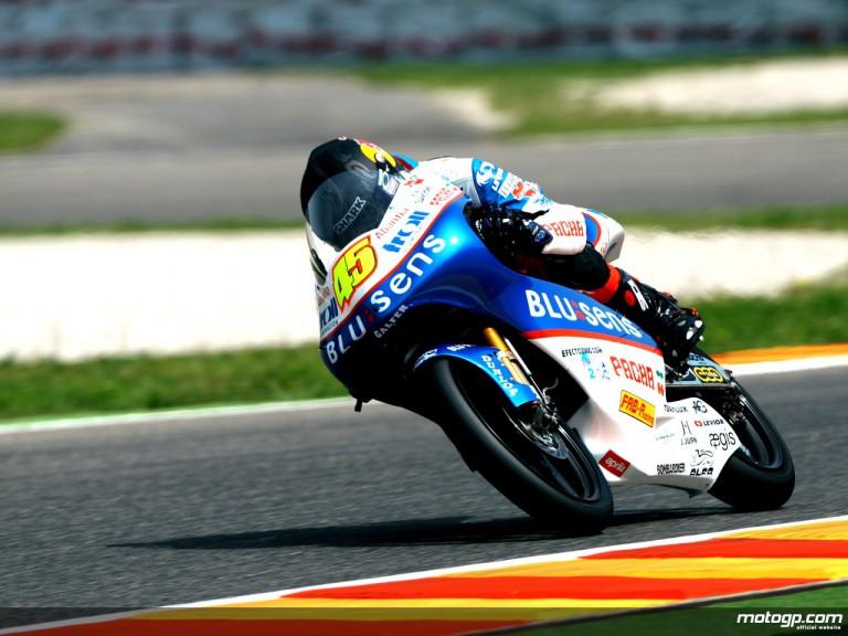 Scott Redding in action (125cc)