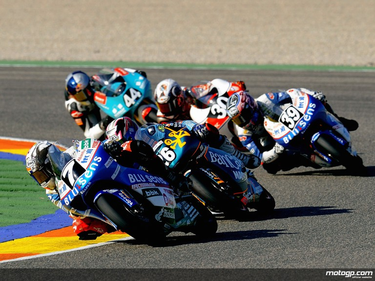 CEV Riders in action in Valencia