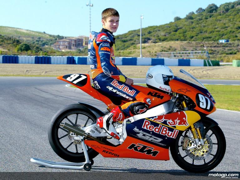 Red Bull MotoGP Academy Cameron Beaubier