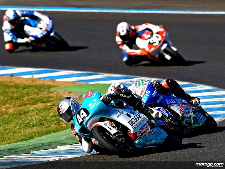 Randy krummenacher in action in Jerez