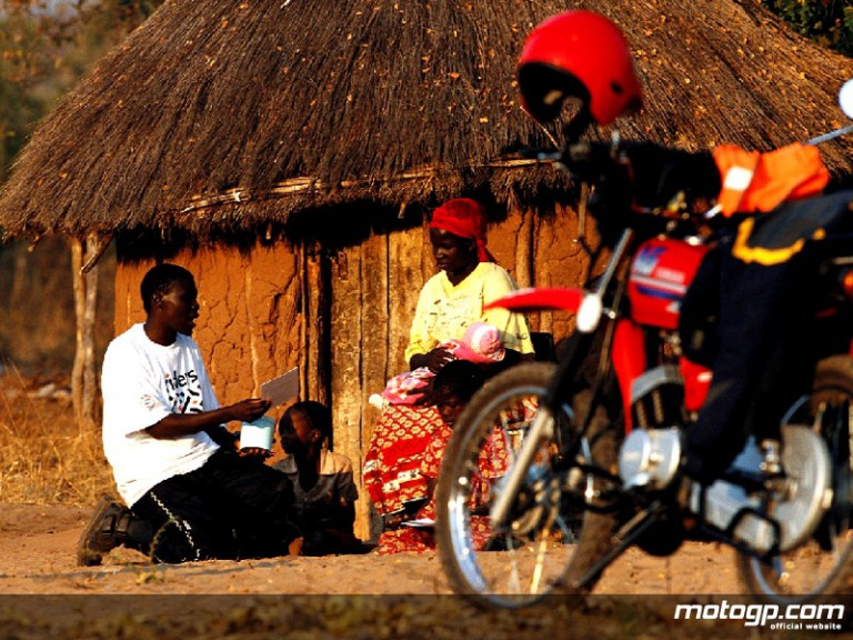 Riders for Health at work in Africa