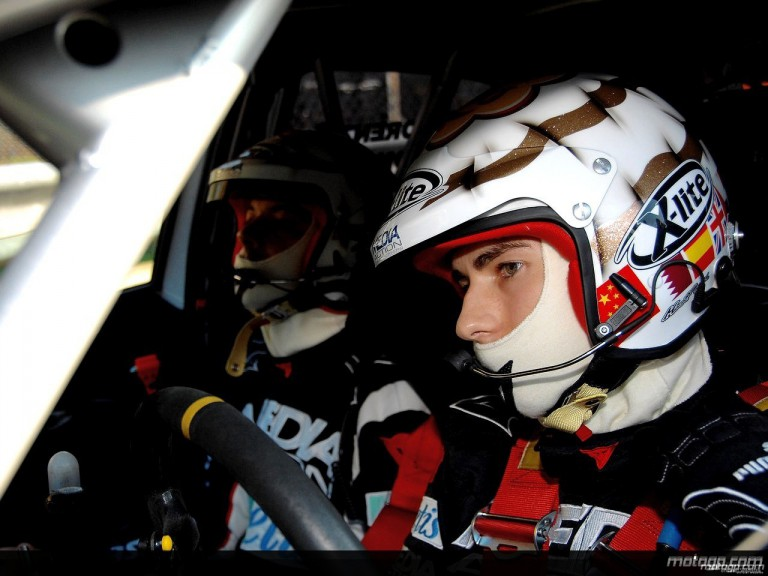 Jorge Lorenzo in Monza Rally Show