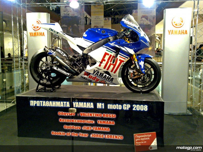 Lorenzo´s Yamaha M1