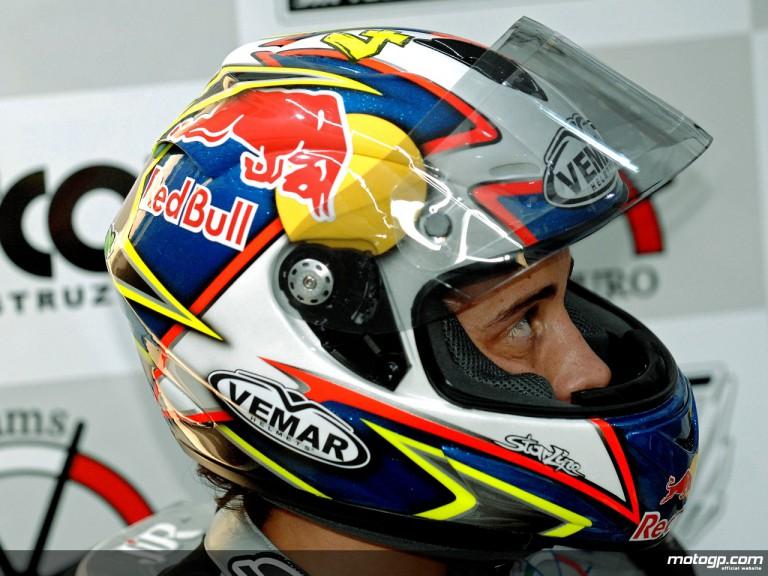 JiR Team Scot rider Andrea Dovizioso