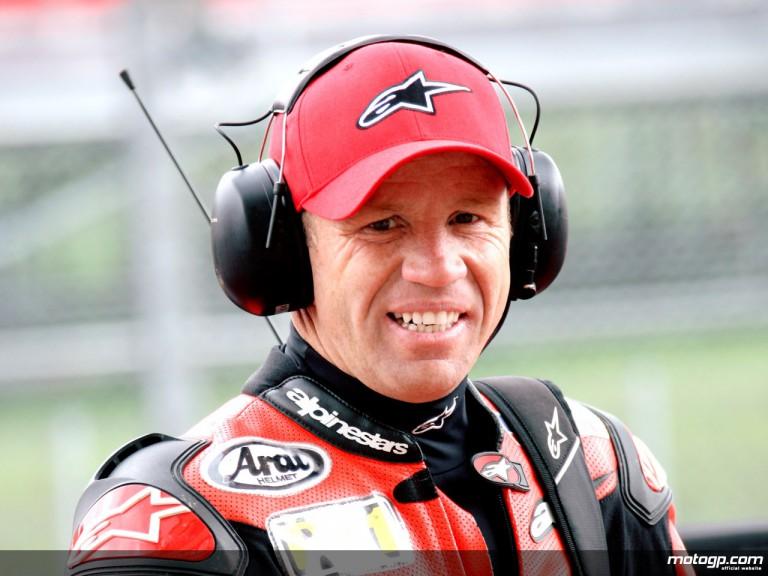 Former Grand Prix rider Randy Mamola