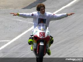 250 World Champion interview with Marco Simoncelli