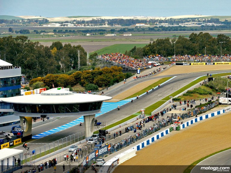 View of Jerez Circuit