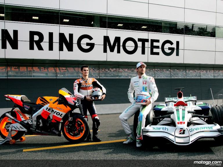 Dani Pedrosa at Honda Racing Thanks Day