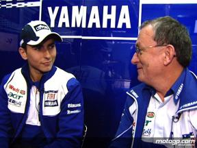 Lorenzo and Forcada on rider-crew chief relationship