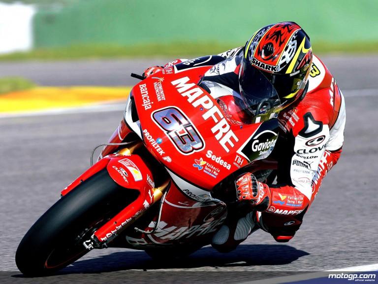125cc World Champion Mike di Meglio makes his 250cc debut with Aspar