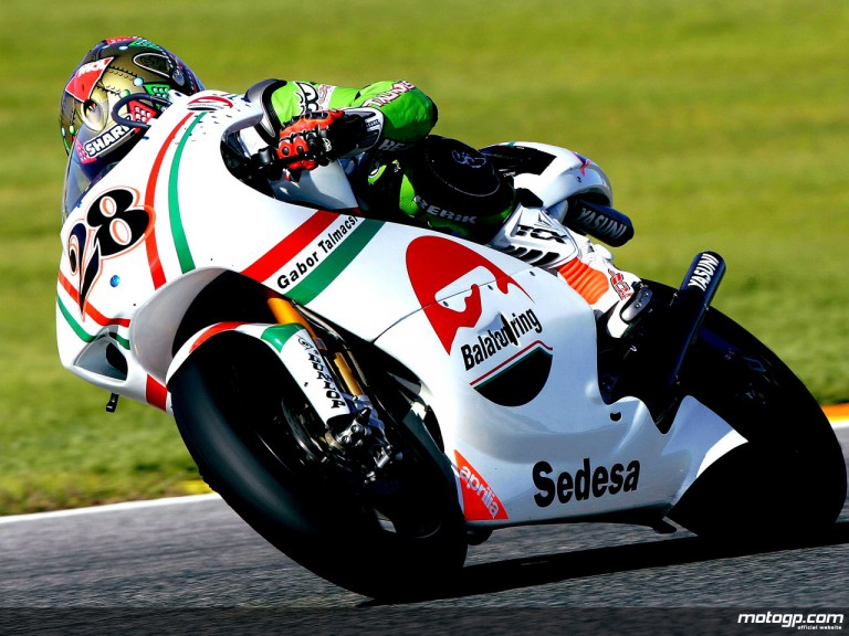 Gabor Talmacsi debuts with Balatonring in 250cc Valencia test