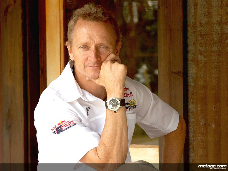 MotoGP Legend and watch fanatic Kevin Schwantz