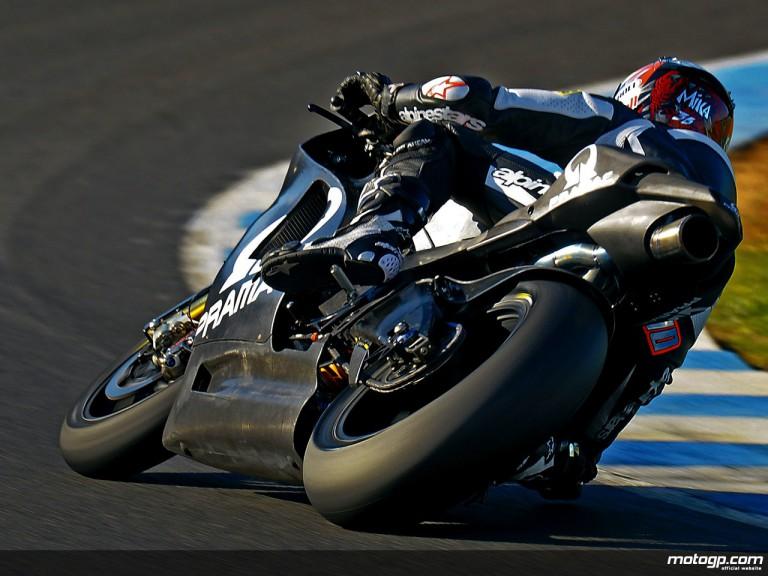 Mika Kallio in MotoGP test in Jerez