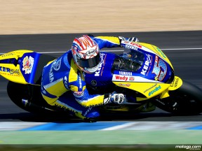 Colin Edwards in MotoGP test in Jerez