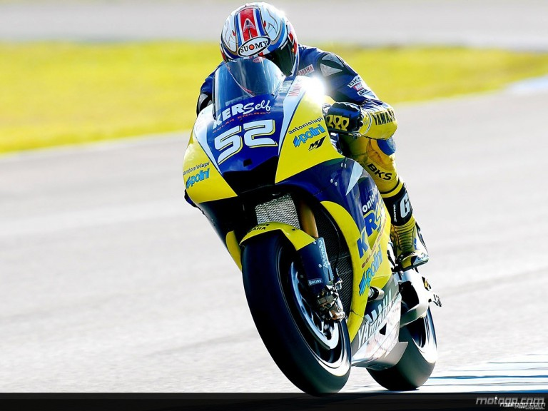 James Toseland in MotoGP test in Jerez