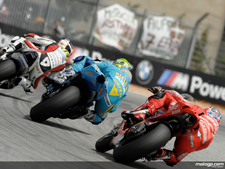 MotoGP Group on track