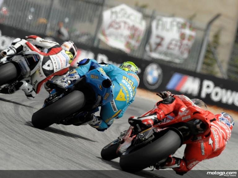 MotoGP Group on track