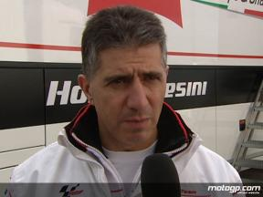Antonio Jimenez reflects on first tests alongside de Angelis