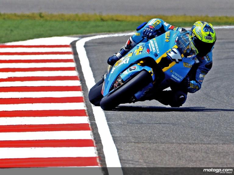 Chris Vermeulen on track