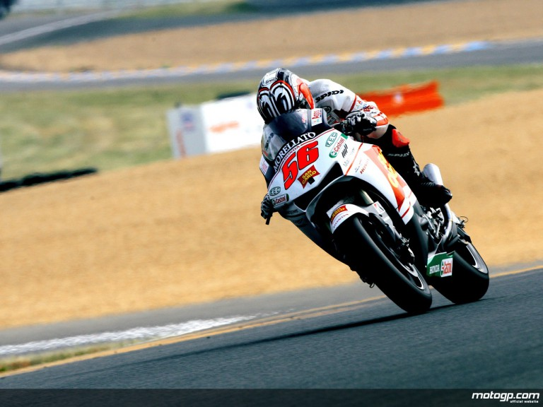 Shinya Nakano on track