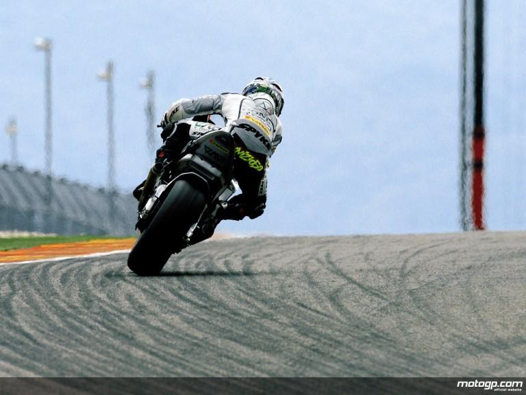 Andrea Dovizioso on track