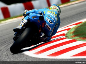 Loris Capirossi in action