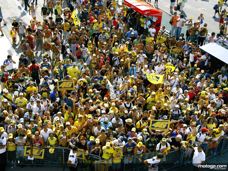 Fans of Rossi