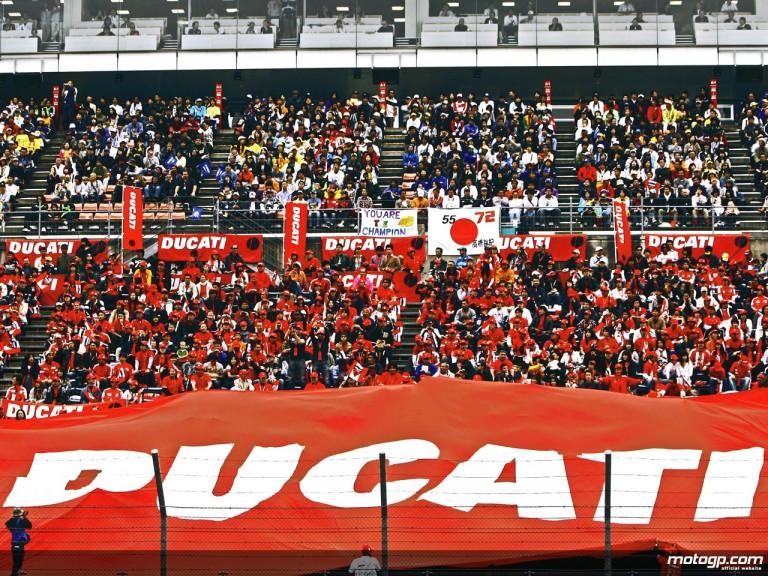 Public with Ducati