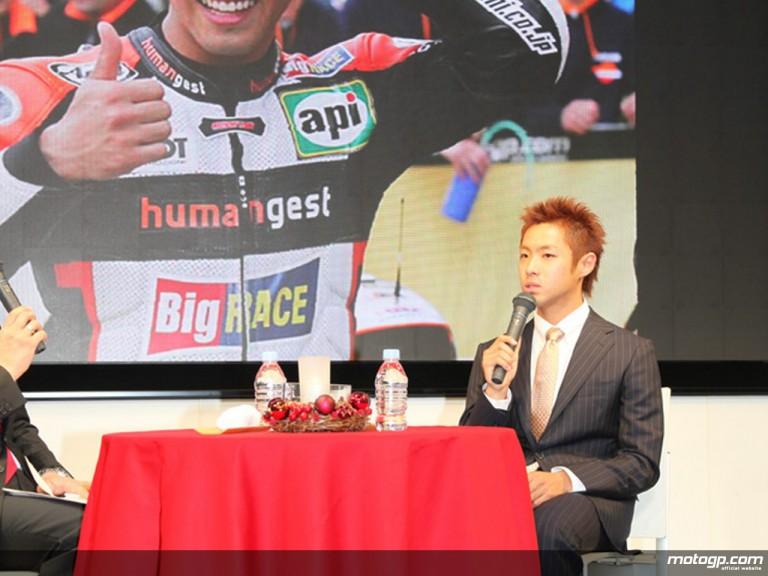 Yuki Takahashi at the Press Conference