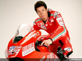 Ducati rider Nicky Hayden at Wrooom 2009