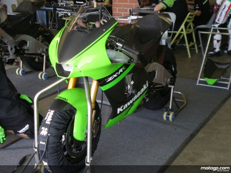 The 2009 Ninja ZX-RR Kawasaki unveiled at Eastern Creek