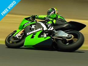 Kawasaki debut the 09 Ninja ZX-RR at Eastern Creek