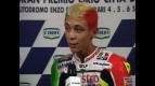 1998 Imola GP Rossi interview after the race