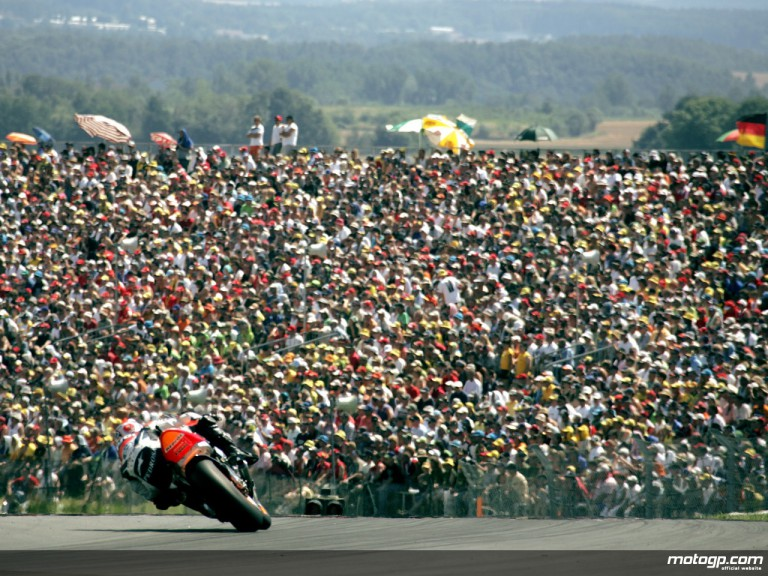 Public ambience at Sachsenring
