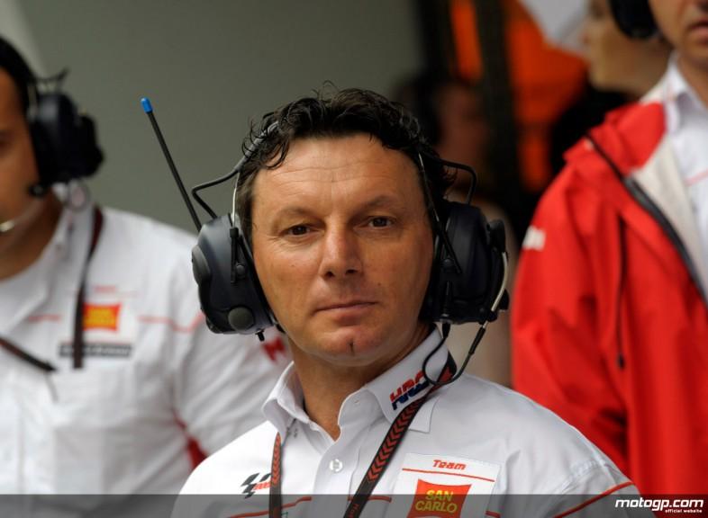 San Carlo Honda manager Fausto Gresini
